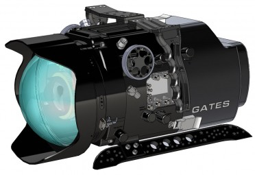 The render for the F55 housing which can also accommodate the F5 camera.